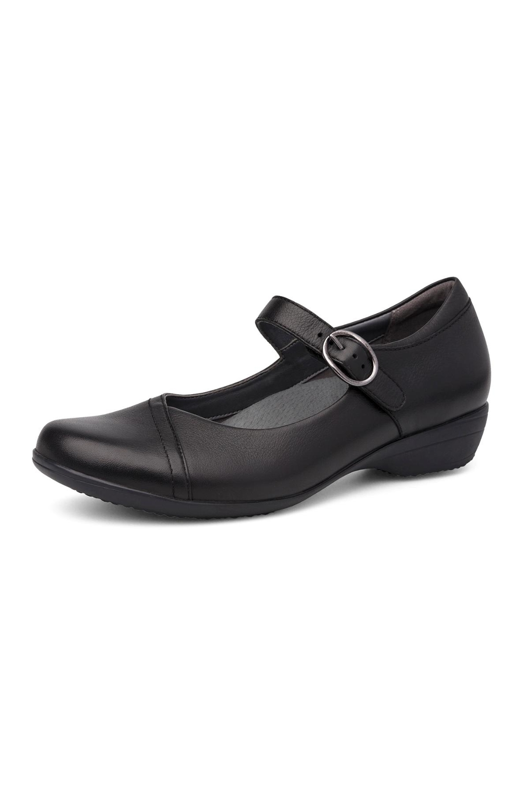Dansko Fawna Black Shoes - Front Cropped Image