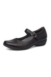 Dansko Fawna Black Shoes - Front cropped