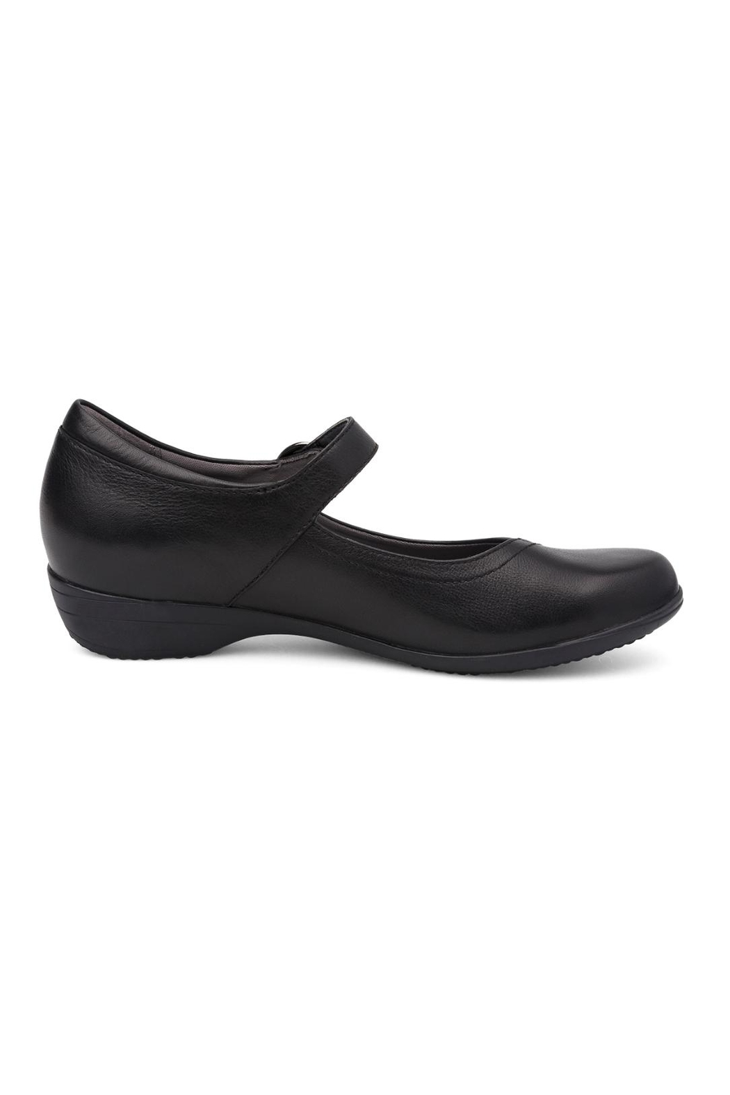 Dansko Fawna Black Shoes - Front Full Image