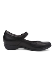 Dansko Fawna Black Shoes - Front full body
