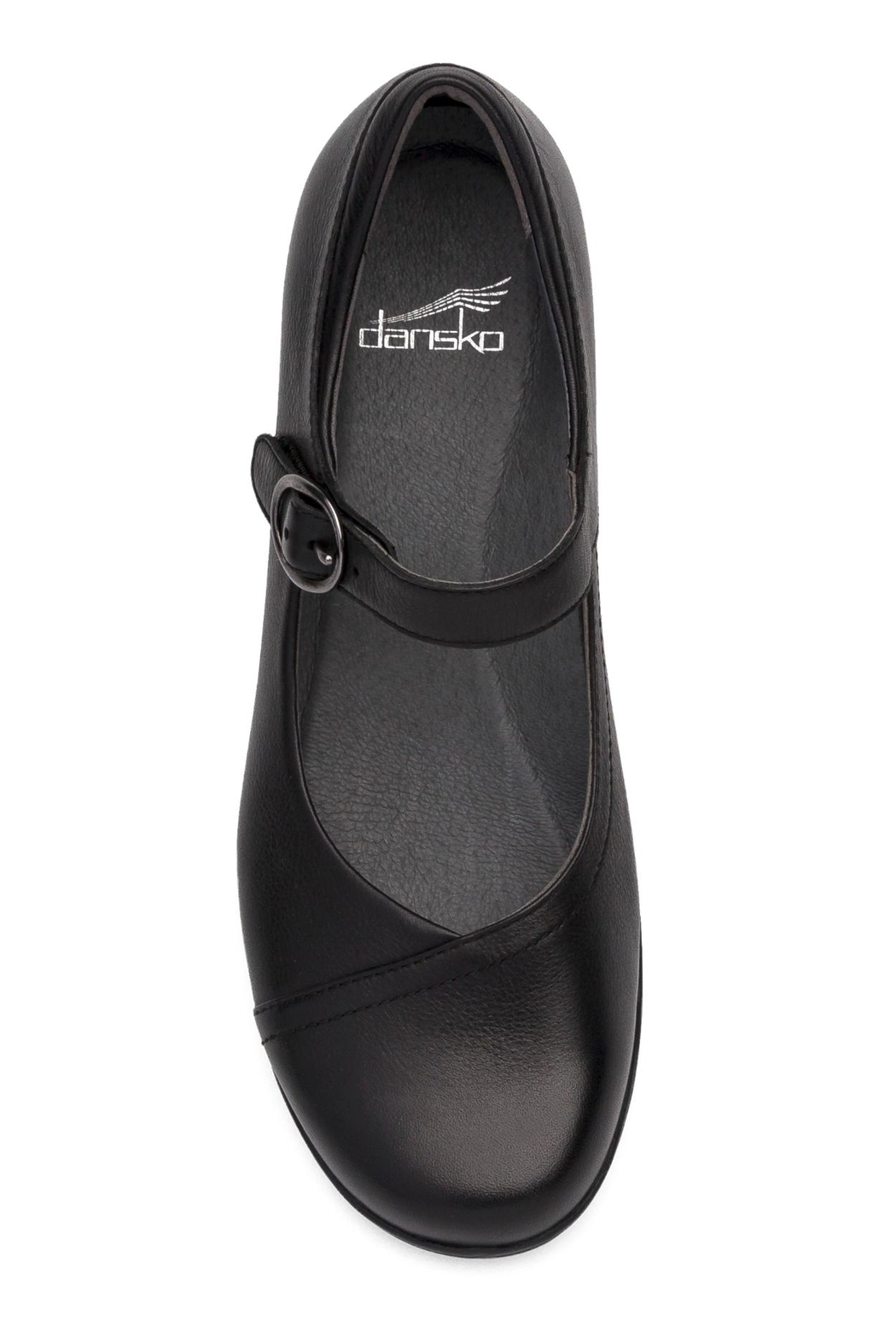 Dansko Fawna Black Shoes - Side Cropped Image