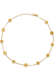 The Birds Nest DAPHNE DELICATE NECKLACE-PEARL - Front cropped