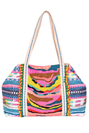 America & Beyond Daphne Embellished Tote - Front cropped