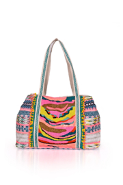 America & Beyond Daphne Embellished Tote - Front full body