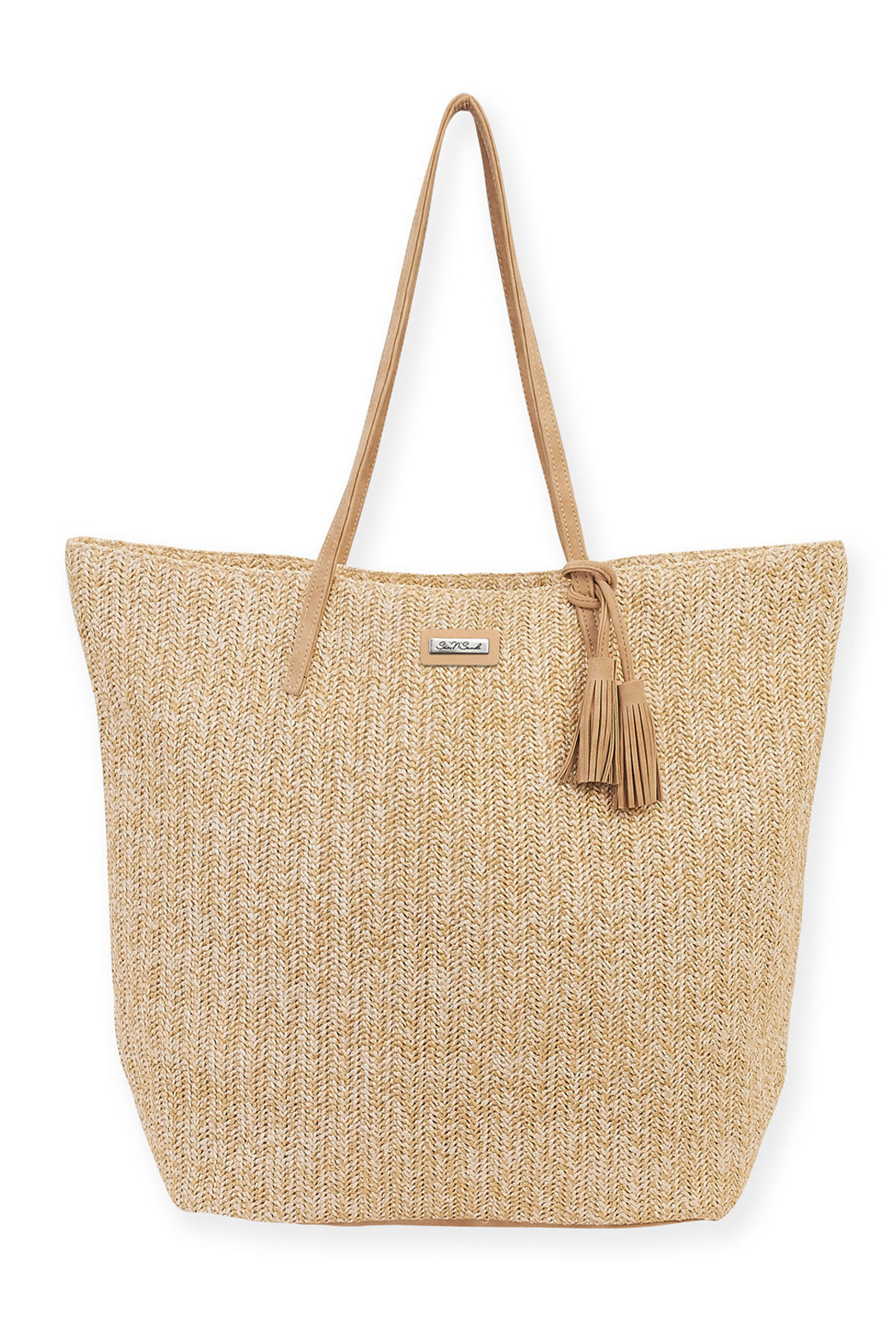 sun and sand Dapple Shoulder Tote - Front Cropped Image