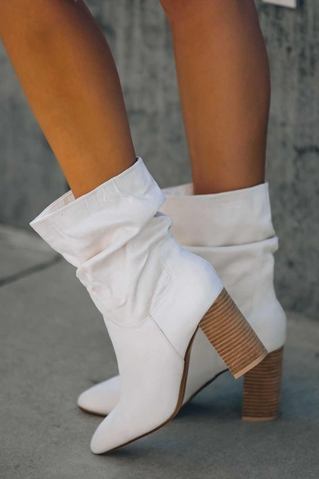 Ccocci Darby Heeled Slouch Bootie - Back Cropped Image