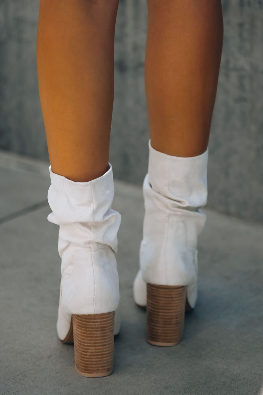 Ccocci Darby Heeled Slouch Bootie - Side Cropped Image