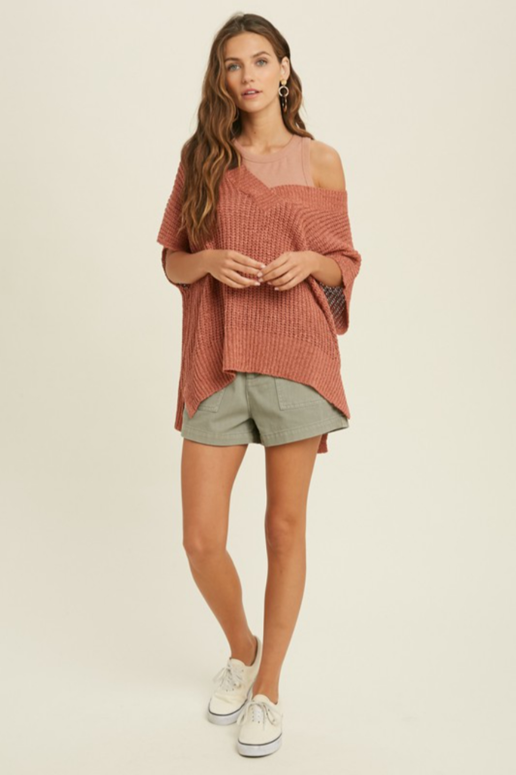 Wishlist Darby Sweater - Side Cropped Image