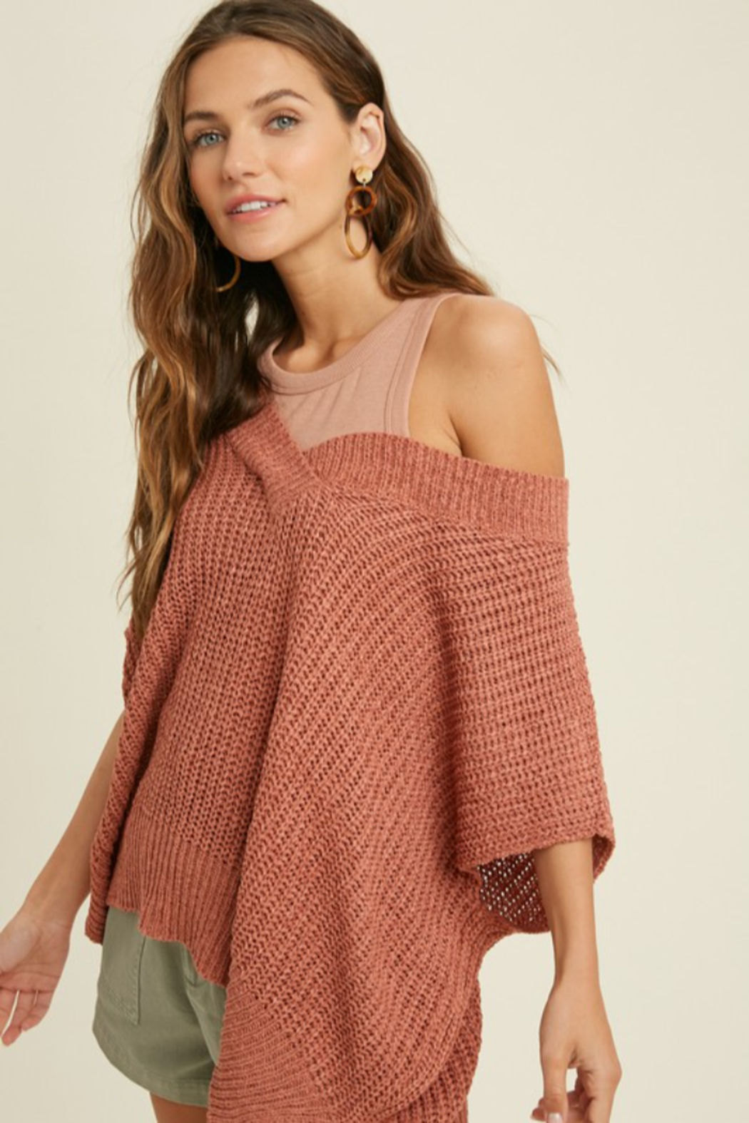 Wishlist Darby Sweater - Front Full Image