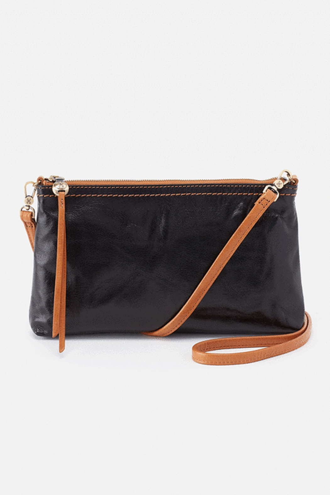 Hobo The Original Darcy Leather Crossbody - Front Cropped Image