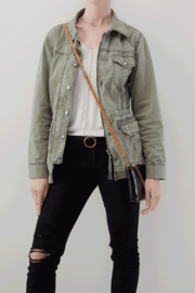Hobo The Original Darcy Leather Crossbody - Side cropped