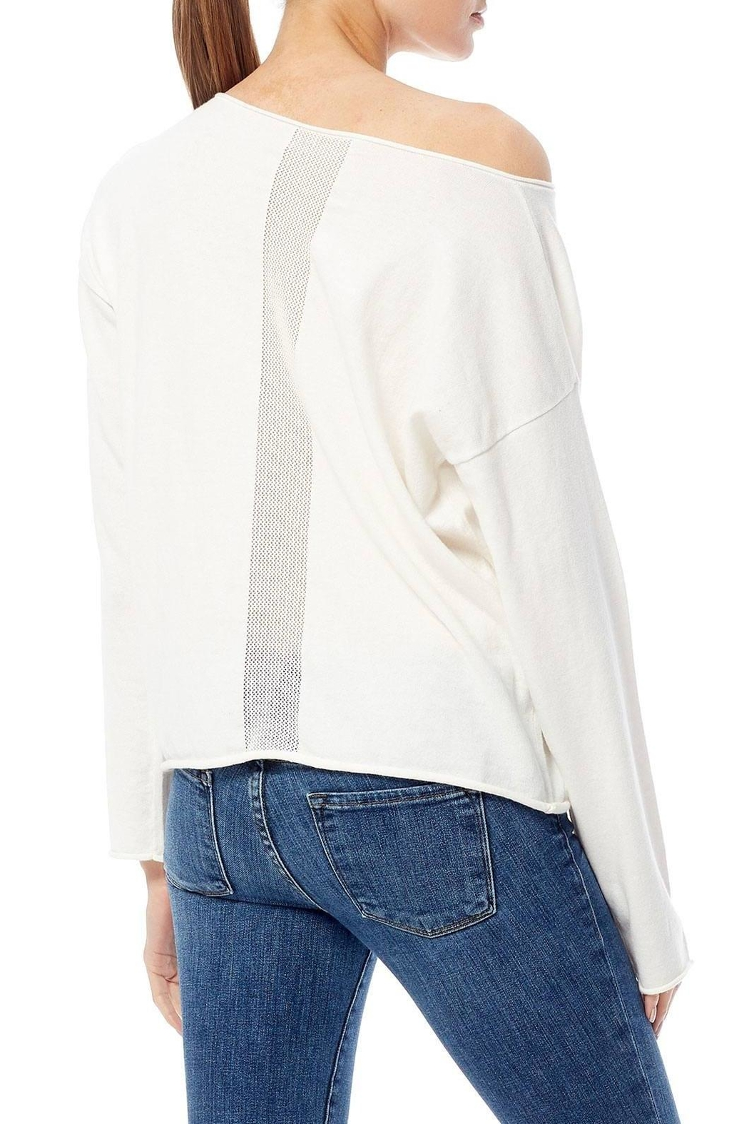 Skull Cashmere Darcy Skull Sweater - Side Cropped Image