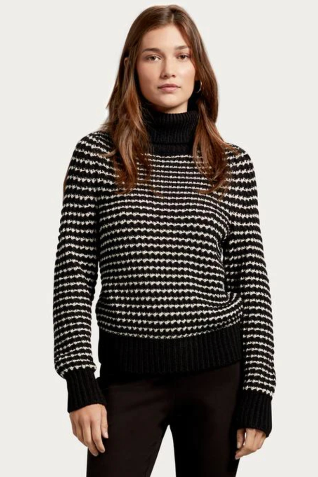 Michael Stars Darcy Turtleneck Pullover - Front Full Image