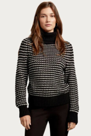 Michael Stars Darcy Turtleneck Pullover - Front full body