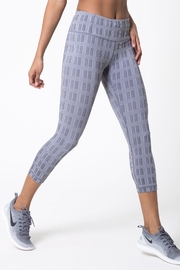 MPG Sport Dare Plaid Capri - Product Mini Image