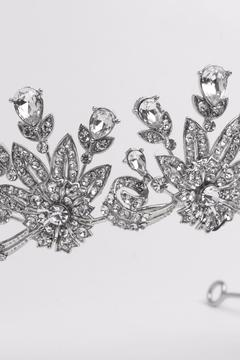 Dareth Colburn Collection Crystal Bridal Tiara - Alternate List Image