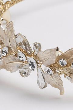 Dareth Colburn Collection Gold Leaf Headband - Alternate List Image