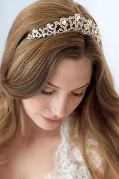 Dareth Colburn Collection Rhinestone Bridal Crown - Product List Image