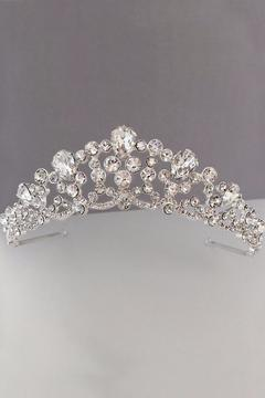 Dareth Colburn Collection Rhinestone Bridal Crown - Alternate List Image