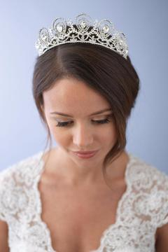 Dareth Colburn Collection Rhinestone Wedding Crown - Product List Image