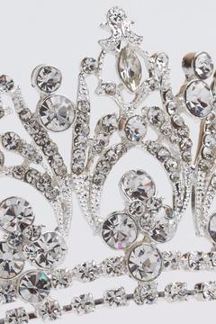 Dareth Colburn Collection Royal Bridal Crown - Alternate List Image