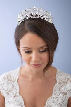 Dareth Colburn Collection Royal Bridal Crown - Product List Image