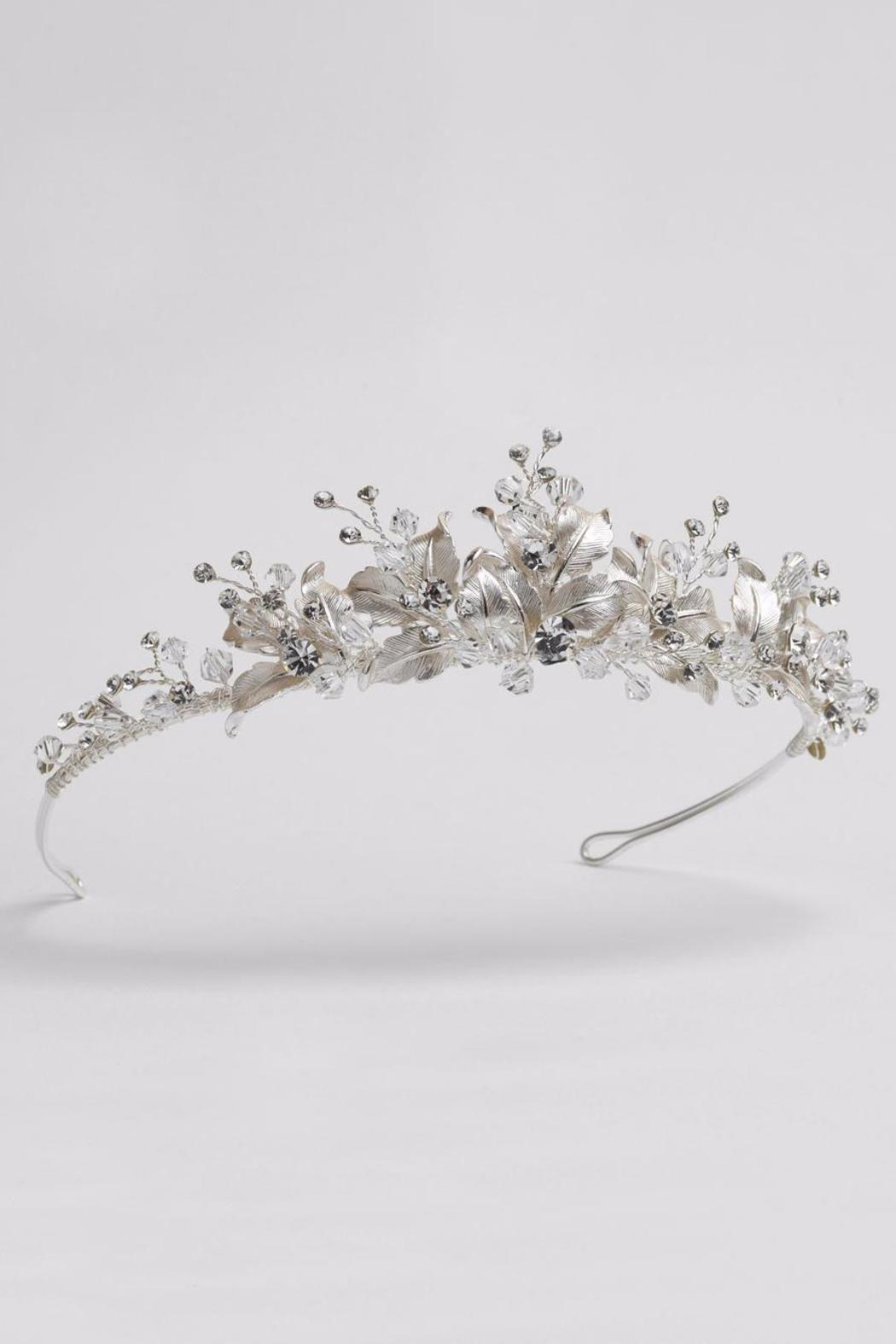 Dareth colburn collection silver flower crown from massachusetts dareth colburn collection silver flower crown side cropped image izmirmasajfo