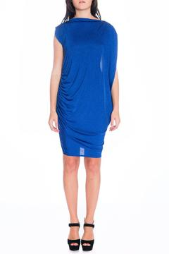 Shoptiques Product: Blue Drape Dress