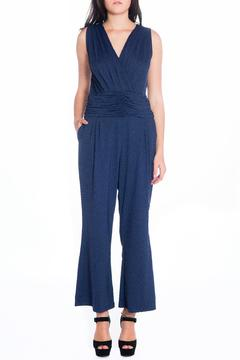 Daria Blue Fitted Jumpsuit - Product List Image