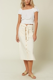 O'Neill Daria Smocked Top - Front cropped