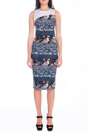Daria Sophisticated Floral Dress - Product Mini Image