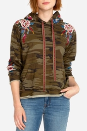 Johnny Was Darielle Camo Hoodie - Product Mini Image