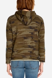 Johnny Was Darielle Camo Hoodie - Front full body