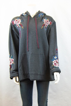 Shoptiques Product: Darielle Pull-On Hoodie