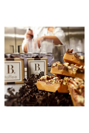 B. Toffee DARK CHOCOLATE TOFFEE GIFT BOX - Back cropped