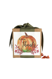 B. Toffee DARK CHOCOLATE TOFFEE GIFT BOX - GIVE THANKS - Front cropped