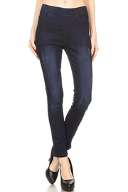 Color 5 Dark Denim Jeggings - Product Mini Image
