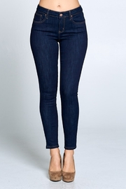 Special A Dark Denim Skinny Jeans - Front cropped