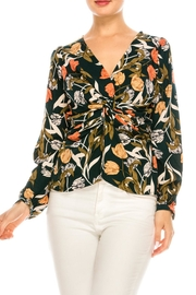 Alythea Dark Floral Blouse - Product Mini Image