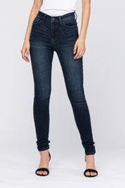 Judy Blue Dark High Waist Skinny Jeans - Product Mini Image