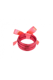 The Birds Nest DARK PINK ALL WEATHER SERENITY BANGLES-MEDIUM - Front full body