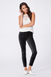Paige Denim Dark Spruce Hoxton Jeans - Product Mini Image