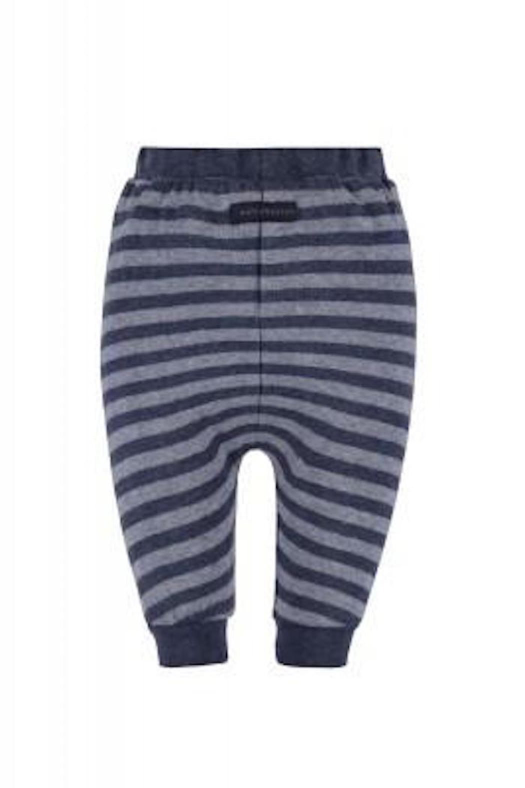 Belly Button Dark Striped Joggers - Front Full Image