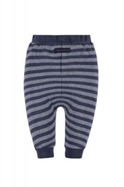 Belly Button Dark Striped Joggers - Front full body