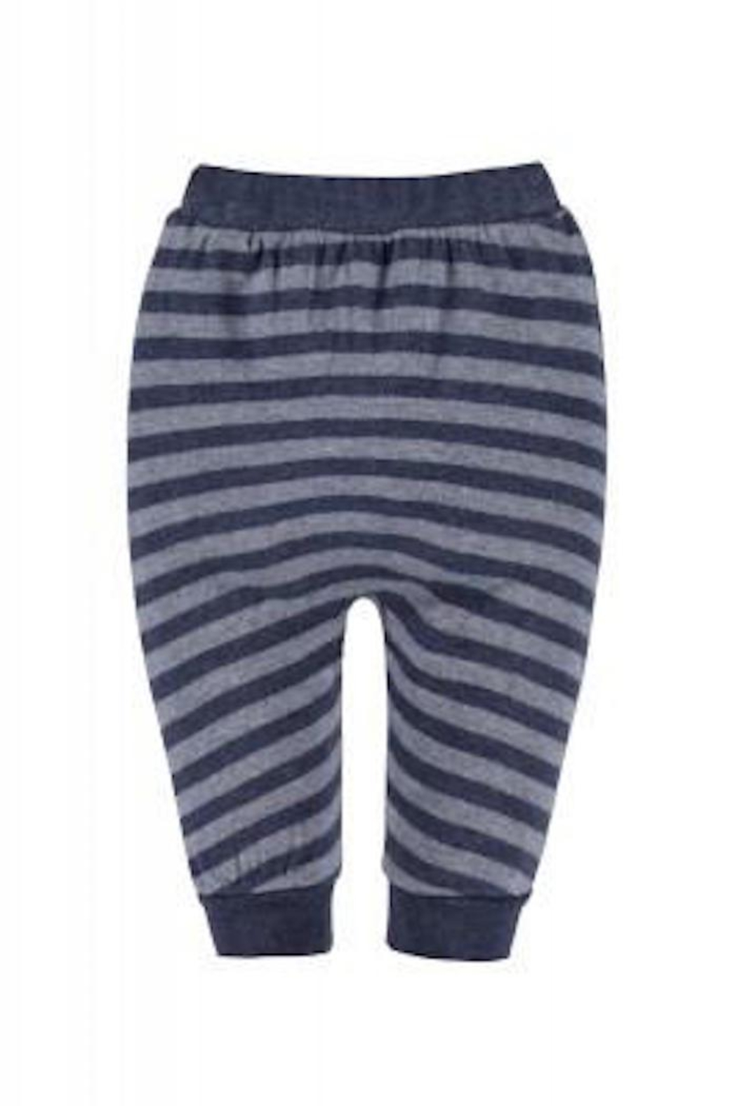 Belly Button Dark Striped Joggers - Main Image