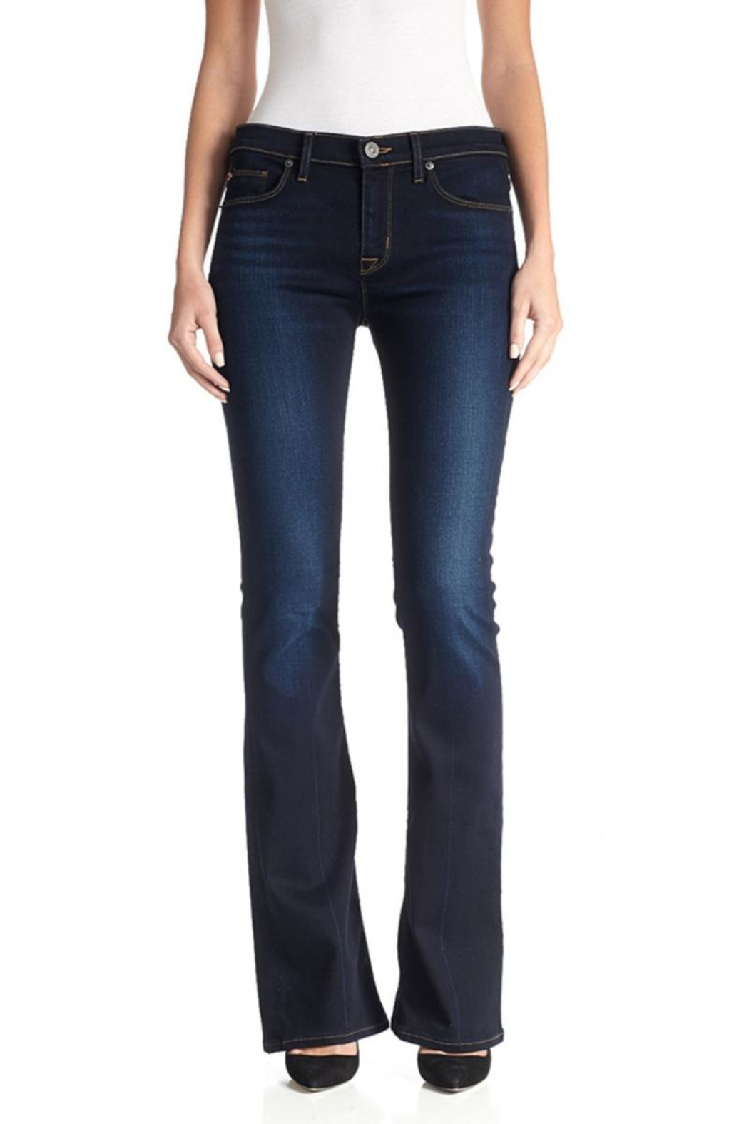 Hudson Jeans Dark-Wash Petite Bootcut - Side Cropped Image