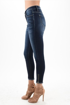 Shoptiques Product: Dark Zip Denim