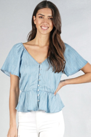 Lovestitch Darla Blouse - Front cropped