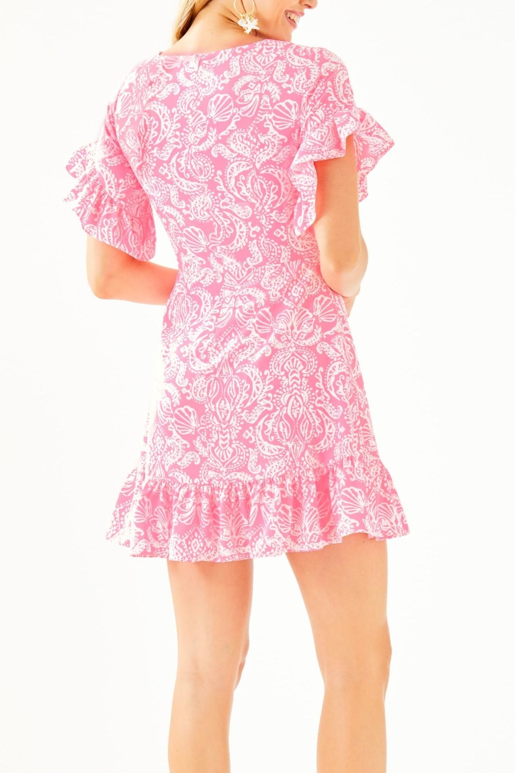 Lilly Pulitzer Darlah Stretch Dress - Front Full Image