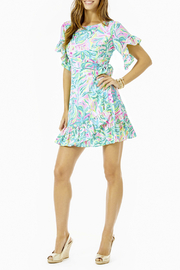 Lilly Pulitzer  Darlah Stretch Dress - Back cropped